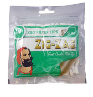 ZIG-ZAG MENTHOL FILTER TIPS 250 TIPS PER BAG (50 PER BOX) (SKU ZI014)