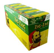 ZIG-ZAG EXTRA SLIM FILTER TIPS 165 TIPS PER BOX (10 PER TRAY) (SKU ZI016)