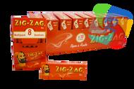 ZIG ZAG 8PK RED