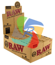 RAW CONNOISSEUR KING SIZE SLIM & PRE-ROLLED TIPS (Pack Size: 24)