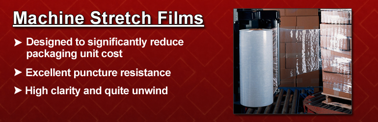Stretch Wrap: Machine Stretch Film