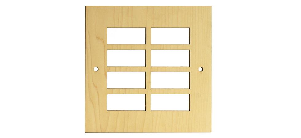 Ziggy vent cover for 12x10 floor register