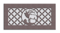 Elk Medallion Metal Vent Cover