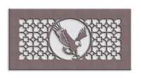 Eagle Medallion Metal Vent Cover