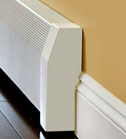 Tall Baseboard Heater Cover 3 ft length