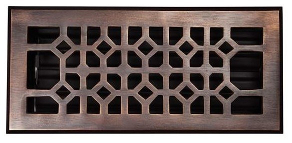 floor x oak flush vent unfinished venice wooden floors products diy wood red register