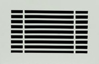 10 x 6 Linear Vent Cover