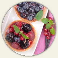 Fruit Tarts (by the dozen)