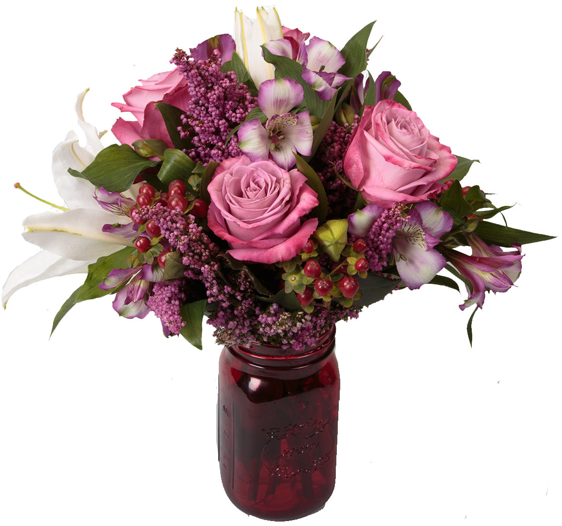 Showered in Flowers - exclusively from Soderberg's Floral and Gift