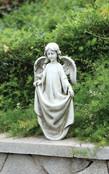 Angel with Dress Birdfeeder