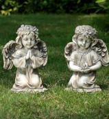 Kneeling Angel Statues (Sold Separately)