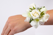 Orchids & Roses Wrist Corsage