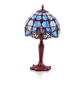 Blue Allistar Mid-Size Lamp