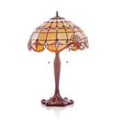 "25"" Amber Allistar Table Lamp"