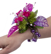 Custom Keepsake Memory Wire Wrist Corsage