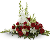Crimson & White Arrangement