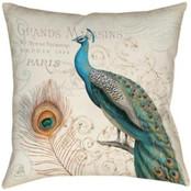 Peacock Majestic Beauty Pillow