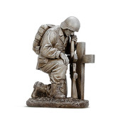 Soldier and Cross Figure