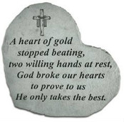A heart of gold...Memory Stone