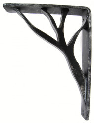 Willow-15B   7.5D 10.0H 1.5W Iron Corbel