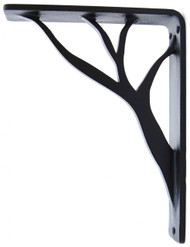 Willow-15B1   7.5D 10.0H 1.5W Iron Corbel