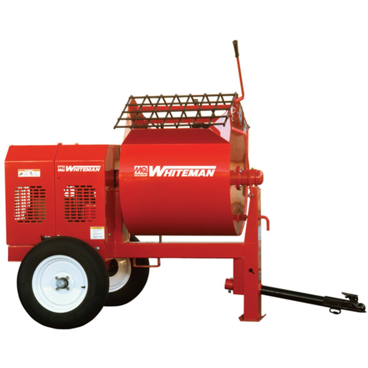 Multiquip Whiteman Wm90sh8 Steel Drum Mortar Mixer Honda