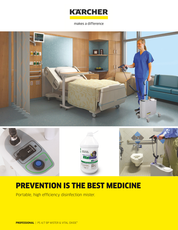 PS 4/7 Bp Mister PS 4/7 Bp Mister  The Kärcher PS 4/7 Bp hospital-grade misting system is specifically designed to reduce risks of Health Care Acquired Infections by killing virus, bacteria and mold faster, safer and quieter.