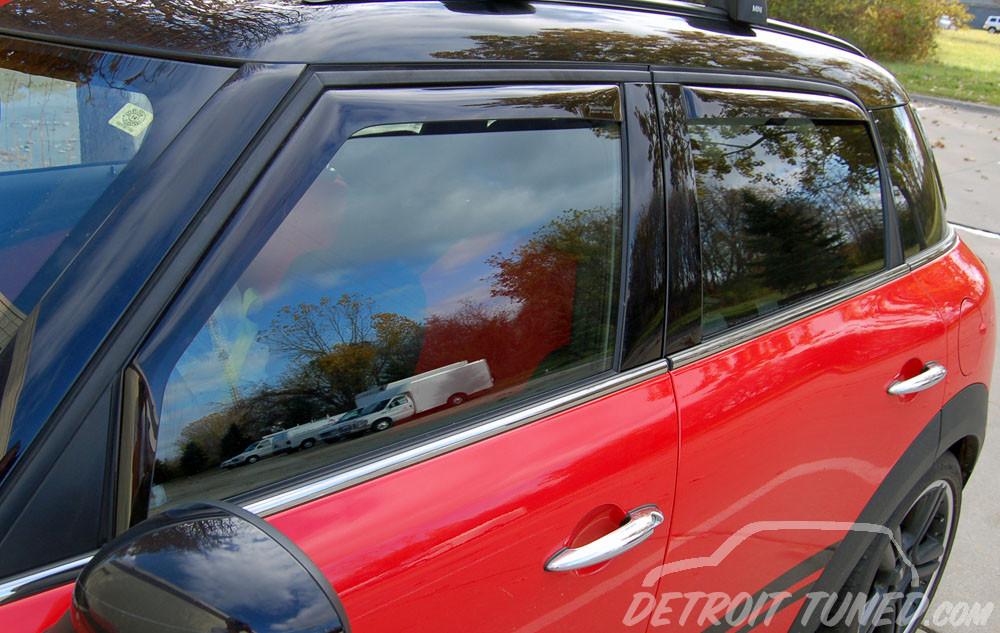 Weathertech Mini Countryman Side Window Deflectors