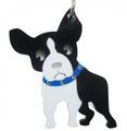 Boston Terrier / French Bulldog Acrylic Key Chain