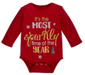 It's the Most Sparkly Time of the Year Baby Girl One Piece (0 - 6 Months)