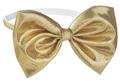 Elegant Gold Ribbon Baby Girl's Headband for 0 - 12 Months