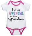 I Get my Awesome from Grandma Baby One Piece (0 - 6 Months)