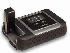 The Iridium GO device is a compact, rugged and portable unit that will extend the capabilities of commonly used smartphones, laptops or tablets by creating a satellite-backed Wi-Fi hotspot.