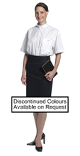Clergy Shirt, Short Sleeve Tapered Fit