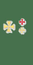 Maltese Cross Appliques