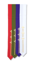 Broad Stole with Crosses