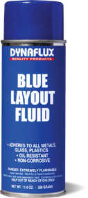 Dynaflux Blue Layout Fluid 11.5 oz