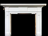 San Sebastian Fireplace Mantel in Pure White (Clearance)