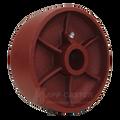 """6"""" by 2"""" Ductile Steel Wheel - 2000 lbs Capacity"""