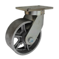 "8"" x 3"" Cast Iron Wheel Swivel Caster -2500 lbs Capacity"