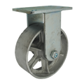 "8"" x 3"" Cast Iron Wheel Rigid Caster -2500 lbs Capacity"