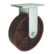 "10"" x 3"" Ductile Wheel Rigid Caster - 5400 lbs Capacity"