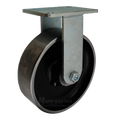 "10"" x 3"" Forged Steel Wheel Rigid Caster - 5000 lbs Capacity"
