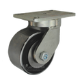 "6"" x 3"" Forged Steel Swivel Caster - 5400 lbs Capacity"
