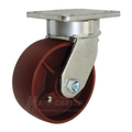 "5"" x 2"" Ductile Steel Kingpinless Swivel Caster - 1500 lbs Capacity (P5105201121)"