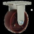 """5"""" x 2"""" Ductile Steel Rigid Caster CC - 1500 lbs Capacity (P5005201122)"""