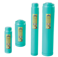 Replacement Calcite & Coconut Shell GAC Cartridge for low pH water, CQ Water Systems