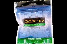 Zen Menthol Slim Cigarette Filter Tips