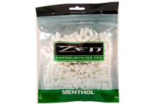 Zen Superslim Menthol Cigarette Filter Tips