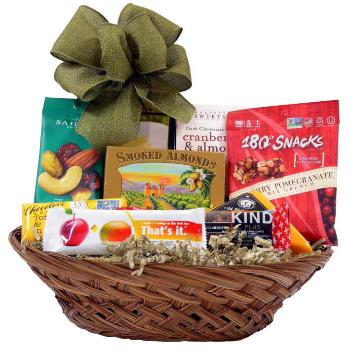 A Healthy Thanks Gift Basket